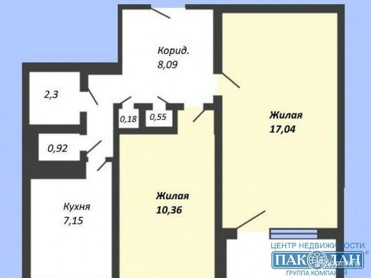 2-комнатная, Минск, Глебки ул. — фото 1