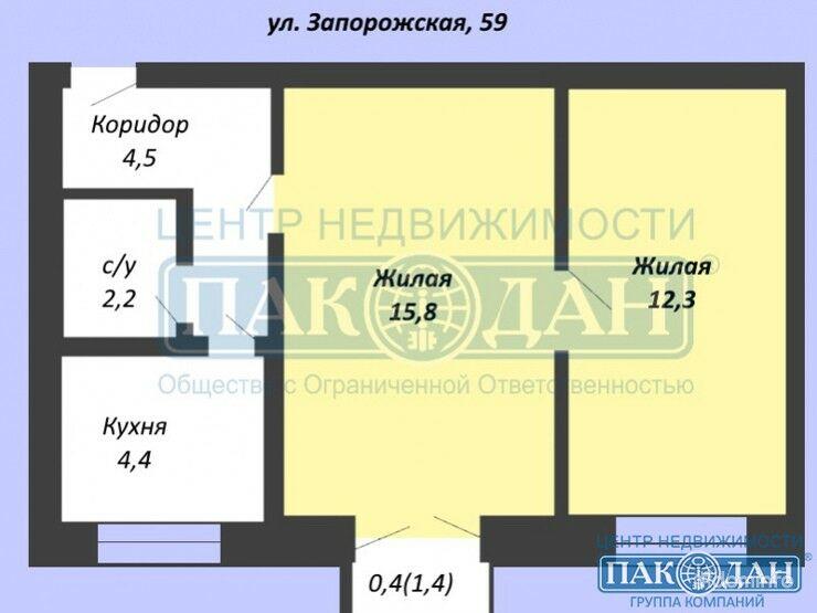 2-комнатная, Минск, Запорожская ул. — фото 1
