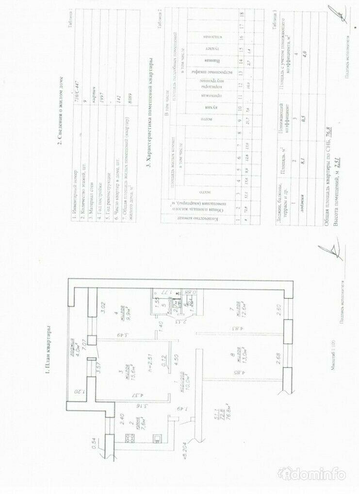4-комнатная, Бобруйск, Чайковского пер. — фото 1